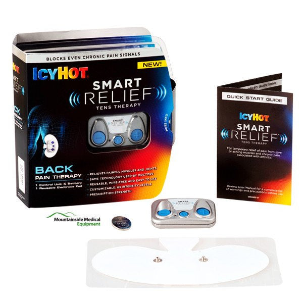 Icy Hot Smart Relief Tens Back Pain Therapy Unit