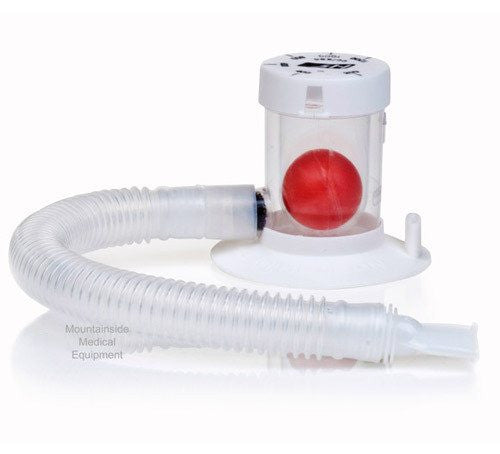 Hudson RCI Incentive Spirometer with Mouthpiece - Incentive Spirometers - Mountainside Medical Equipment