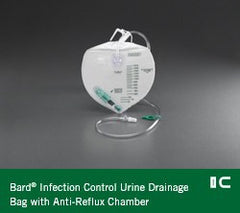 Buy Bard Infection Control Urine Drainage Bag 2000mL used for Urinary Drainage Bag by Bard Medical
