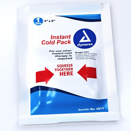 Disposable Instant Cold Pack Junior 4 x 5