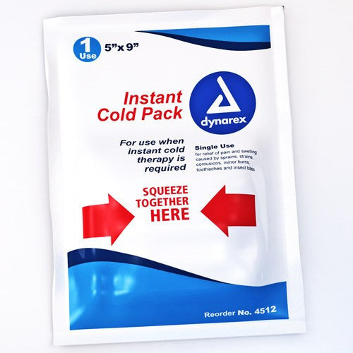 Dynarex Instant Cold Pack 5 x 9 - Cryotherapy - Mountainside Medical Equipment