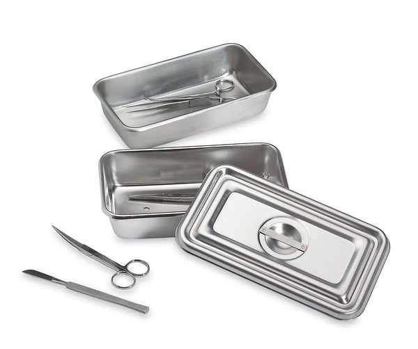 Stainless Steel Instrument Tray with Lid