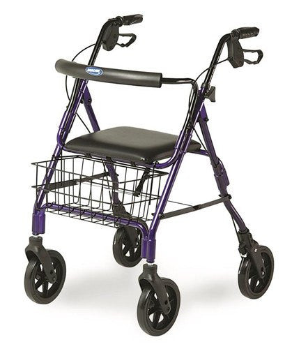 Invacare Rollator with Rear Locking Brakes