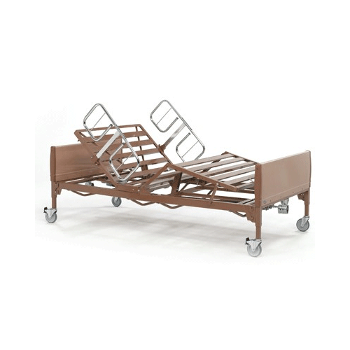 Buy Bariatric Full Electric Hospital Bed Package 600 lbs Capacity by Invacare | SDVOSB - Mountainside Medical Equipment