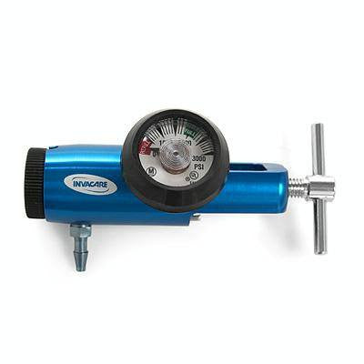 Buy Regulator with Contents Gauge with 4 lpm maximum flow by Invacare | SDVOSB - Mountainside Medical Equipment