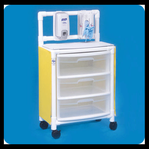 Buy Isolation Station Mobile Cart by Innovative Products Unlimited wholesale bulk | Isolation Supplies