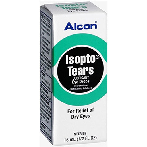 Alcon Isopto Tears Lubricant Eye Drops - Lubricating Eye Drops - Mountainside Medical Equipment