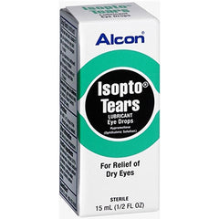 Buy Alcon Isopto Tears Lubricant Eye Drops online used to treat Lubricating Eye Drops - Medical Conditions