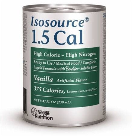 Buy Isosource 1.5 Cal 8 oz Liquid Formula 24/Case by Nestle Health Science | SDVOSB - Mountainside Medical Equipment