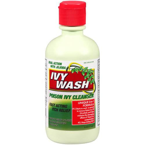 Ivy Wash Poison Ivy Itching Relief Skin Cleanser