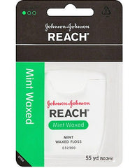 Buy Reach Dental Floss Mint Waxed 55 Yards by Johnson & Johnson | Home Medical Supplies Online