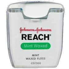 Reach Dental Floss Mint Waxed 55 Yards