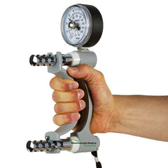 Buy Jamar Hand Strength Evaluation Dynamometer by Fabrication Enterprises | SDVOSB - Mountainside Medical Equipment