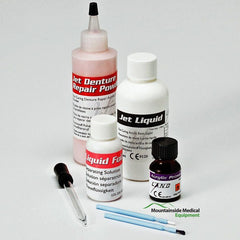 Buy Jet Denture Repair Acrylic CP21 Fast Set Package by Lang Dental | Home Medical Supplies Online
