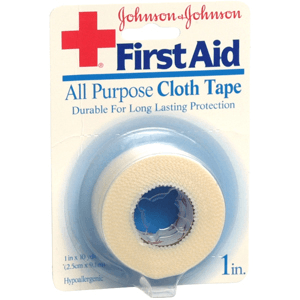 Buy Johnson and Johnson All Purpose Cloth Tape 1 inch by Johnson & Johnson | Tapes & Wound Closures