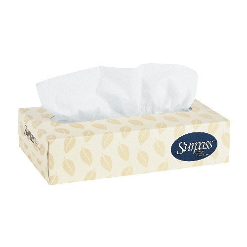 Surpass Facial Tissues Boxes 30/Case - Kitchen & Bathroom - Mountainside Medical Equipment