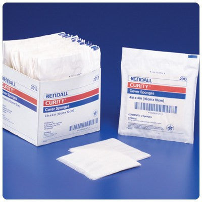Curity Cover Sponges - Gauze Pads - Mountainside Medical Equipment