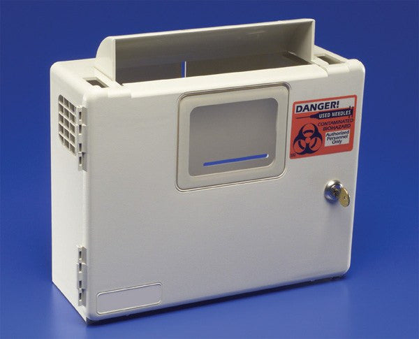 Buy Sharps Disposal System with Key Locking Door 85165H online used to treat Sharps Containers - Medical Conditions