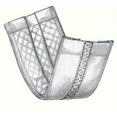 Buy Kendall Uniguard Adhesive Strip Pant Liners (100/cs) used for Light Bladder Protection by Covidien /Kendall