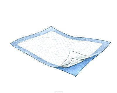 "Kendall 1550 SureCare Disposable Underpads 23"" x 26"" (54/Case)"