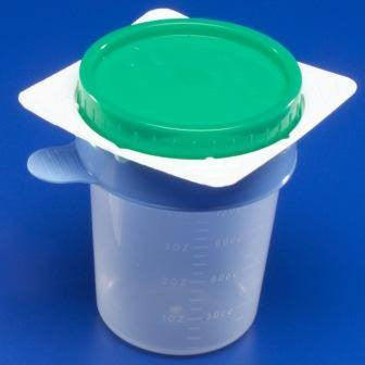 Kendall 25000 Easy Catch Midstream Catch Set - Urine Specimen Collection - Mountainside Medical Equipment