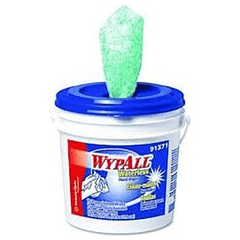 Buy Wypall Waterless Hand Wipes, 75 Premoistened Wipes per Bucket, 6/Case online used to treat Cleaning & Maintenance - Medical Conditions