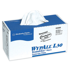 Buy WypAll L30 General Purpose Wipers 120/box x 10/Case, (1200) White by Kimberly-Clark Professional | Sani Cloth