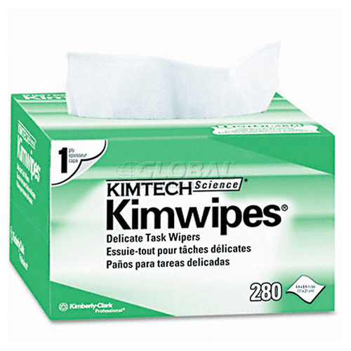 Kimtech Kimwipes Delicate Task Wipers 1-Ply White 8,400/Case
