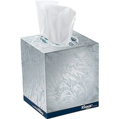 Kleenex Boutique Facial Tissue 2-Ply, White, 36/Case