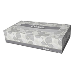 Buy Kleenex Flat Box Facial Tissues, 2-Ply, White, 48/Case online used to treat Kitchen & Bathroom - Medical Conditions