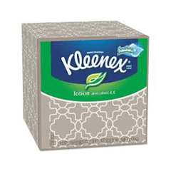 Buy Kleenex Lotion Facial Tissues with Aloe, White, 75/Box, 27/Case online used to treat Kitchen & Bathroom - Medical Conditions