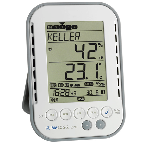 Buy Klimalogg Pro Temperature/Humidity Data Logger online used to treat Thermometers - Medical Conditions
