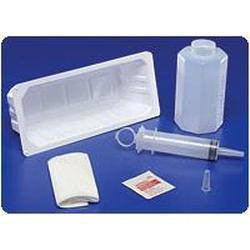 Sterile Irrigation Tray with a 60cc Piston Syringe 68800 for Foley Kits and Trays by Covidien /Kendall | Medical Supplies