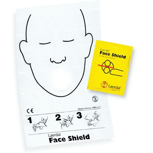 Laerdal Disposable CPR Face Shield Barrier