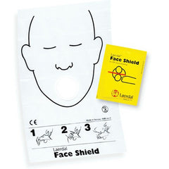 Laerdal Disposable CPR Face Shield Barrier for CPR Masks & Supplies by Laerdal | Medical Supplies