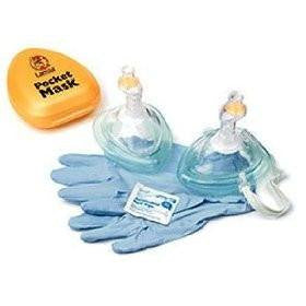 Laerdal Pocket Mask w/ Gloves & Wipe