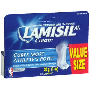 Buy Lamisil AT Antifungal Cream 1 oz (30g) with Coupon Code from Novartis Consumer Health Sale - Mountainside Medical Equipment