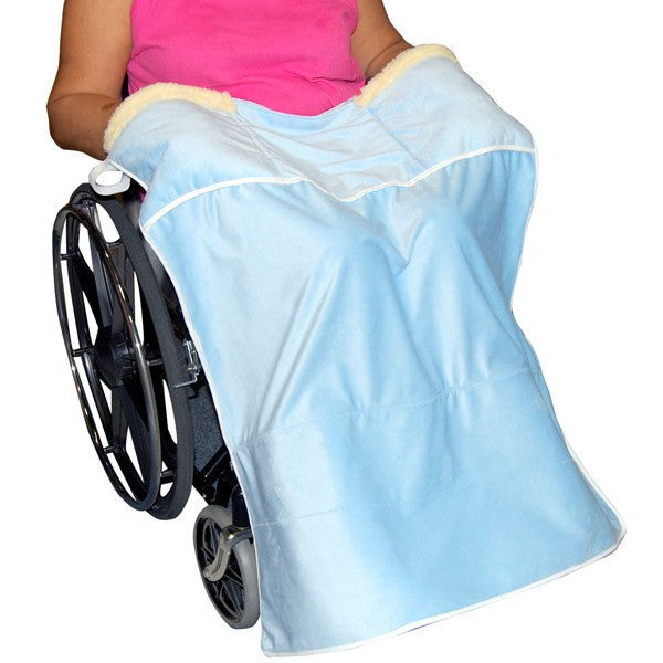 Lap Blanket with Hand Warming Pockets - Wheelchair Accessories - Mountainside Medical Equipment