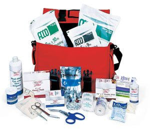 Large Trauma Kit with Supplies