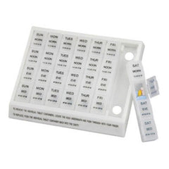 Buy Large Weekly Medication Planner Pill Holder used for Over the Counter Drugs by Briggs Healthcare/Mabis DMI