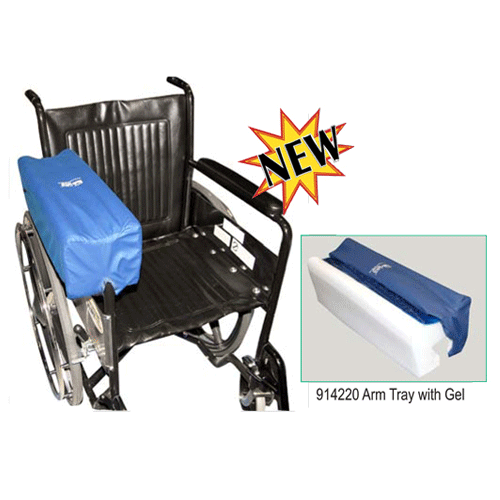 Lateral Stabilizer Arm Platform Trough Tray - Wheelchair Accessories - Mountainside Medical Equipment