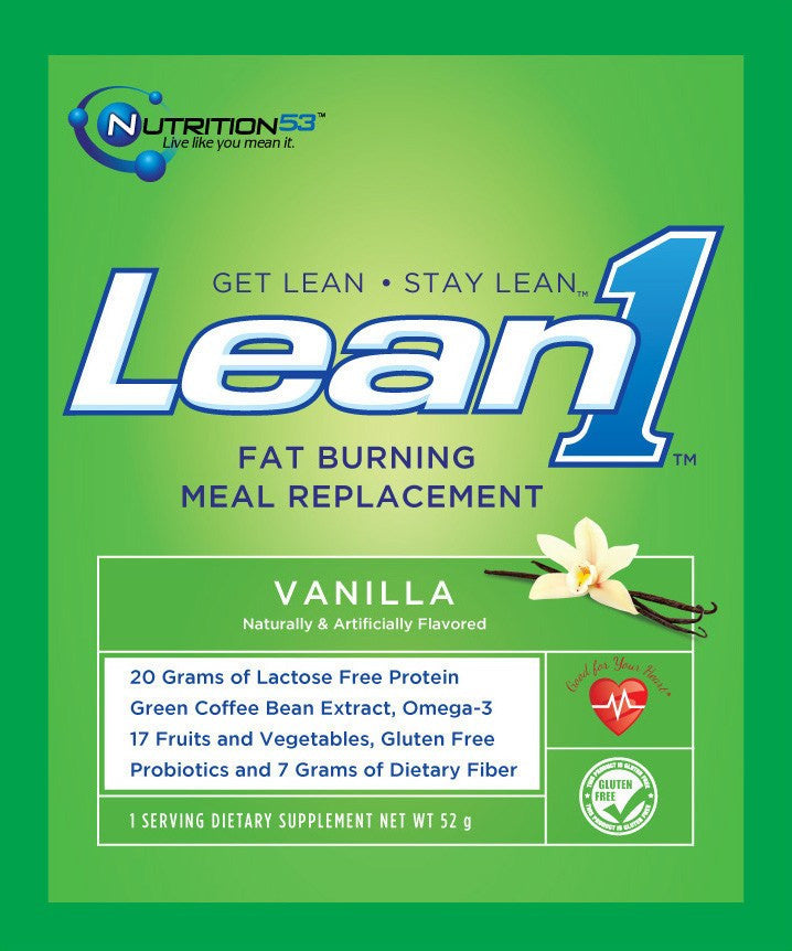 Buy Lean1 Meal Replacement Weight Control Packet online used to treat Exercise and Fitness - Medical Conditions