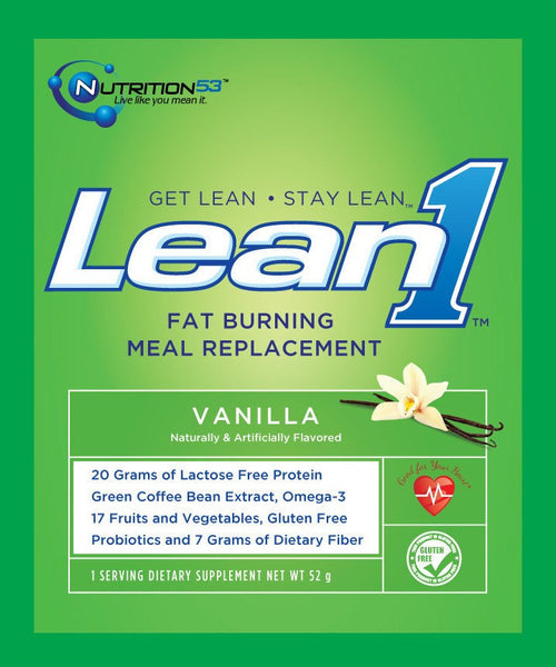 Lean1 Meal Replacement Weight Control Packet