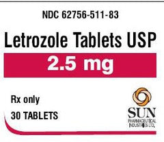 Buy Letrozole Tablets 2.5 grams 30/Tablets online used to treat Fertility Products - Medical Conditions