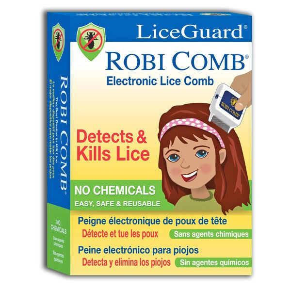 Buy LiceGuard Electronic Lice Comb, ZAP Themn on Contact online used to treat Lice Treatment Products - Medical Conditions