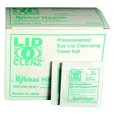 Buy LidClenz Eye Lid Cleansing System 36/Box online used to treat Eye Lid Cleansing Wipes - Medical Conditions