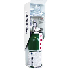 Buy Lif O Gen Automated Wall Mount Emergency Oxygen Kit by Allied Healthcare from a SDVOSB | Emergency Oxygen
