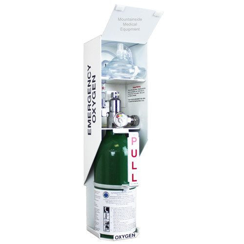 Lif O Gen Automated Wall Mount Emergency Oxygen Kit - Emergency Oxygen - Mountainside Medical Equipment