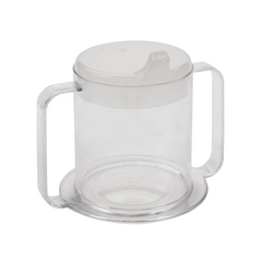 Buy Lifestyle 2-Handle Drinking Cup 10 oz by Drive Medical | SDVOSB - Mountainside Medical Equipment