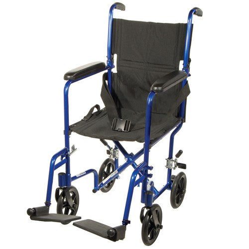 Aluminum Transport Chair - Transport Wheelchairs - Mountainside Medical Equipment